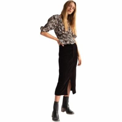フリーピープル Free People レディース ひざ丈スカート ペンシルスカート スカート Roxy Rib Pencil Skirt Black