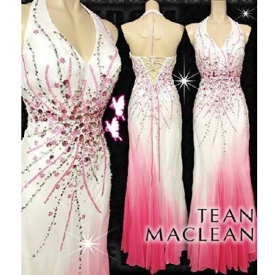 ドレス jean maclean キャバ ドレス フォーマルドレス ドレスフォーマル パーティードレス フリーダム ドレス グラデシフォンカラービジュロングドレス