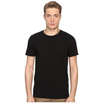 ヴィンス Vince メンズ Tシャツ トップス Short Sleeve Pima Cotton Crew Neck Shirt Black