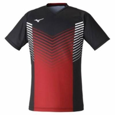 ミズノ(MIZUNO) ゲームシャツ (ユニセックス) テニス/ソフトテニス ウエア ゲームウエア (72MA1004)