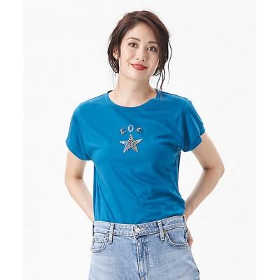 <CARA O CRUZ(Women)/キャラ・オ・クルス> 星モチーフTシャツ ライトグリーン【三越伊勢丹/公式】