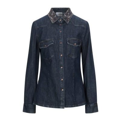 ジジル JIJIL デニムシャツ ブルー 42 コットン 99% / ポリウレタン 1% デニムシャツ