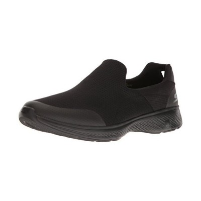 Skechers パフォーマンス メンズ Go Walk 4 Incredible Walking シューズ, ブラック, 13 M (海外取寄せ品)