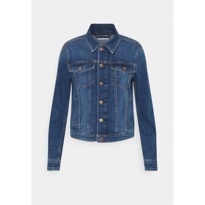 マルコポーロ デニム ジャケット&ブルゾン レディース アウター JACKET REGULAR LENGTH PATCHED POCKETS - Denim jacket - multi/true indigo mid blue