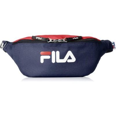 フィラ FIRA リメンバーシリーズ ウエストバッグ ネイビーレッド 7561