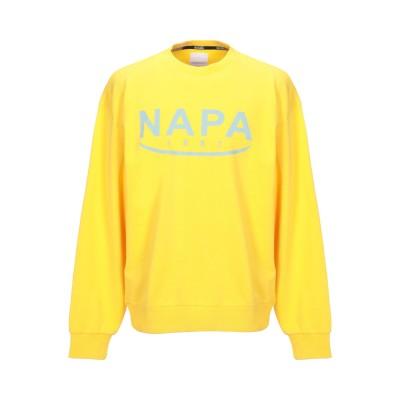 ナパピリ NAPAPIJRI スウェットシャツ イエロー S コットン 100% / ポリウレタン スウェットシャツ