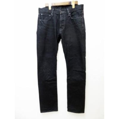 【中古】クロ KURO graphite デニム パンツ ブラック 31【ブランド古着ベクトル】210528★ メンズ