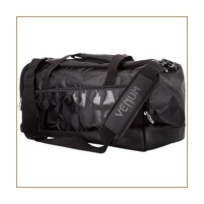 VENUM ヴェヌム ジムバッグ Sparring スパーリング スポーツバッグ(黒/黒)【並行輸入品】