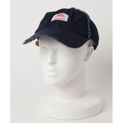 atmos pink / ROUND HOUSE RH DAMAGE DENIM BB CAP MEN 帽子 > キャップ
