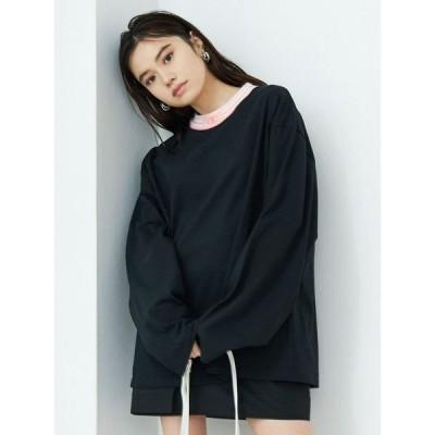 tシャツ Tシャツ 【EMODA×CHAMPION】ジャガードリブロンT