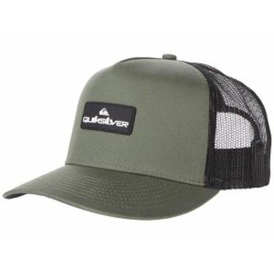 クイックシルバー メンズ 帽子 アクセサリー Lockerbees Hat Four Leaf Clove