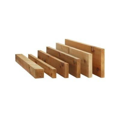 ウッドデッキ レッドシダー DIY 材料 38×89×3040mm (3.8kg) 根太材 ウエスタン 米スギ 米杉 デッキ材 天然木