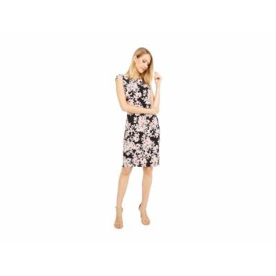 ラルフローレン ワンピース トップス レディース Novellina Cap Sleeve Day Dress Black/Pink/Multi