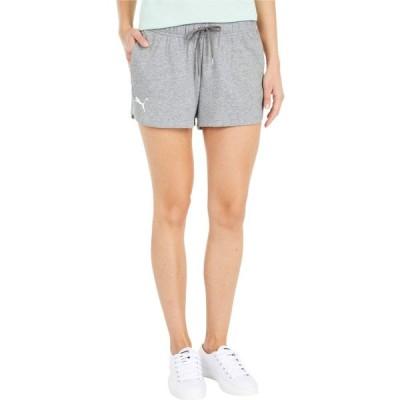 プーマ PUMA レディース ショートパンツ ボトムス・パンツ Stay Bold Shorts Medium Gray Heather/Puma White