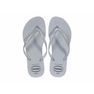 ハワイアナス レディース サンダル シューズ Slim Gloss Flip-Flop Ice Grey