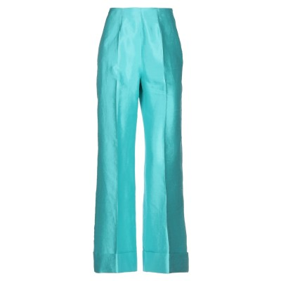LE SARTE PETTEGOLE パンツ ターコイズブルー 42 シルク 100% パンツ