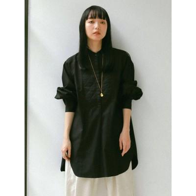 Ungrid バックオープンドレスシャツ(ブラック)
