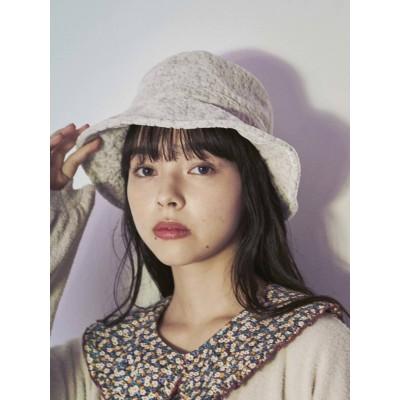 【公式】merry jenny(メリー ジェニー)floralオパールバケットhat