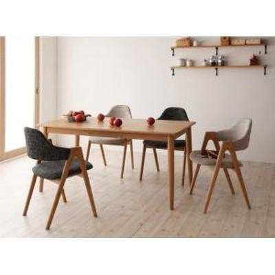 ダイニング テーブル チェア セット / 5点セット(テーブル+チェア4脚) 4人 テーブル:天然木 タモ 無垢材 チェア:天然木 おしゃれ 北欧