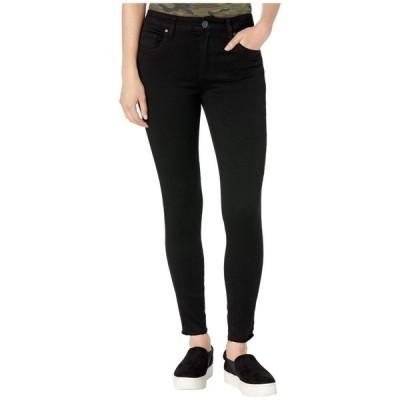 カットフロムザクロス KUT from the Kloth レディース ジーンズ・デニム スキニー ボトムス・パンツ Donna High-Rise Ankle Skinny Raw Hem in Black Black