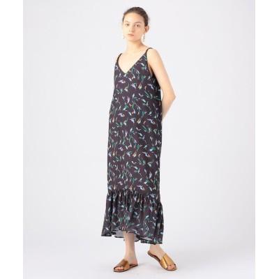 (TOMORROWLAND BUYING WEAR/トゥモローランド バイイングウエア)MARIHA 潮騒のドレス/レディース 48ダークブラウン系