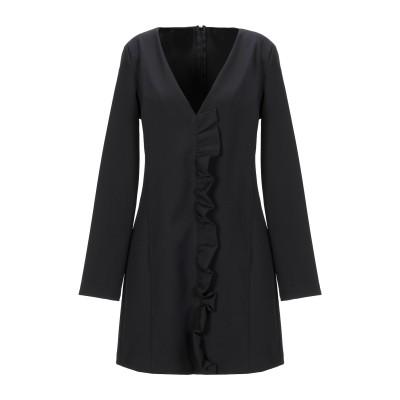VICOLO ミニワンピース&ドレス ブラック S ポリエステル 88% / ポリウレタン 12% ミニワンピース&ドレス