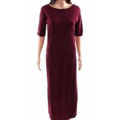 max マックス ファッション ドレス WEEKEND MAX MARA NEW Red Womens Size XS Midi Boat Neck Maxi Dress