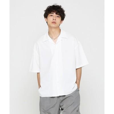 シャツ ブラウス Reflax Weather Stretch Open Collar Shirt 〜JAPAN MADE〜