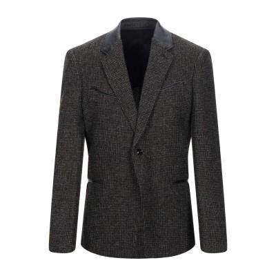ルメール LEMAIRE テーラードジャケット ミリタリーグリーン 46 バージンウール 100% / 革 テーラードジャケット