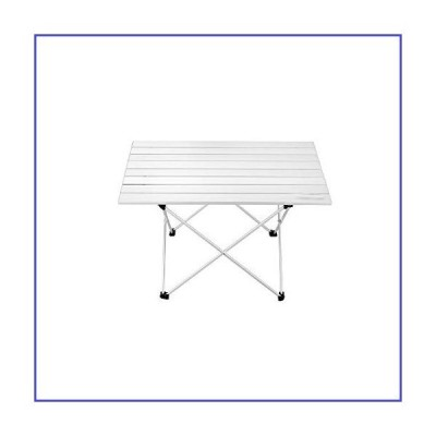 UXZDX CUJUX Portable Camping Table Aluminum Ultralight Folding Waterproof Outdoor Hiking BBQ Camp Picnic Table Desk Stable