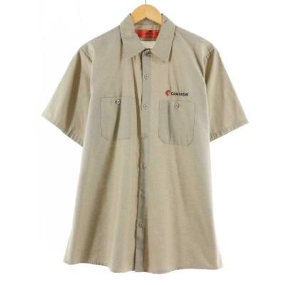 レッドキャップ Red kap 半袖 ワークシャツ メンズM /eaa163821