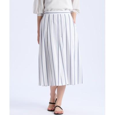 【スーペリアクローゼット/SUPERIOR CLOSET】 ストライプロングスカート