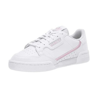 adidas Originals Women's Continental 80 Sneaker, White/True Pink/Clear Pink, 10 Medium US
