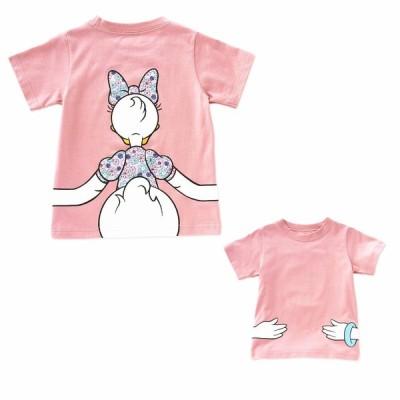 送料無料デイジーダック半袖Tシャツ100cm〜140cm 韓国子供服 春夏 メール便対応