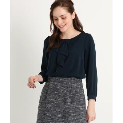 Couture brooch / 【ママスーツ/入学式 スーツ/卒業式 スーツ】ラッフルボウタイシャツ WOMEN トップス > シャツ/ブラウス