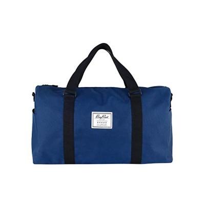 [BayRoot] ボストンバッグ トラベルバッグ 旅行バッグ 旅行かばん 大容量 軽量 撥水 キャリーオン 修学旅行 アウトドア 紺 ( ネイビー