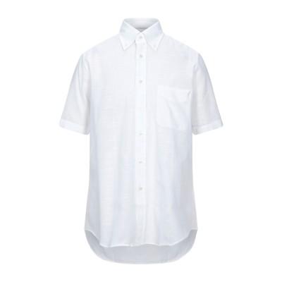HARDY CROBB'S シャツ ホワイト 38 コットン 100% シャツ