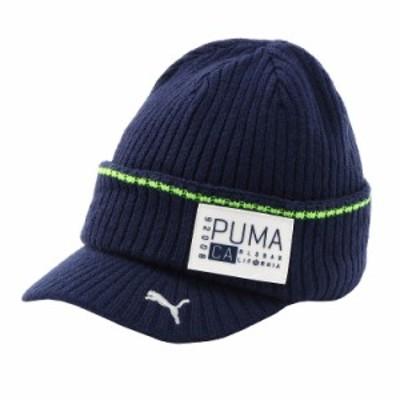 プーマ ゴルフ キャップ ビーニー ニットキャップ CA ブリム メンズ 866514_02 PUMA GOLF