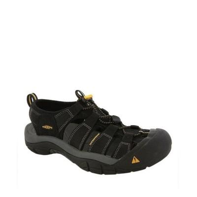 キーン メンズ サンダル シューズ Newport H2 Water Sport Shoes Black