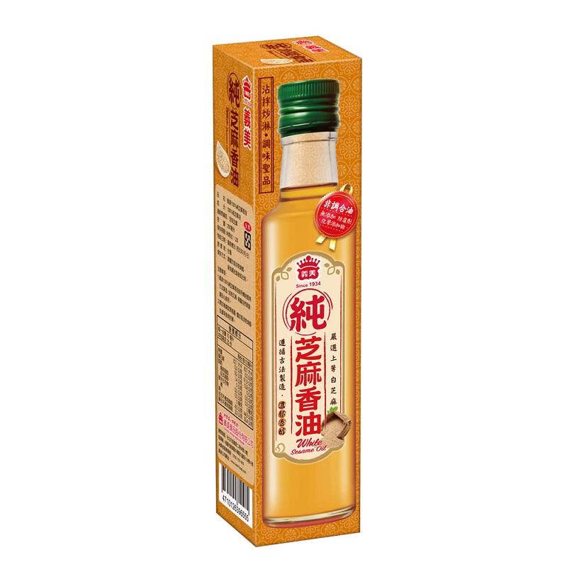 義美100%純芝麻香油