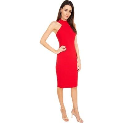 ベベ Bebe レディース ボディコンドレス タイト ワンピース・ドレス Bodycon Halter Dress Red