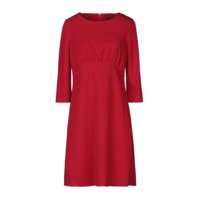 SANDRO FERRONE ミニワンピース&ドレス レッド 46 ポリエステル 95% / ポリウレタン 5% ミニワンピース&ドレス