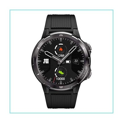 """Cubitt CT3 Smart Watch, Fitness Tracker with Heart Rate Monitor. 1.3"""" Touch Screen, IP68 Waterproof, Step Counter, Sleep Monitor, Pedometer"""