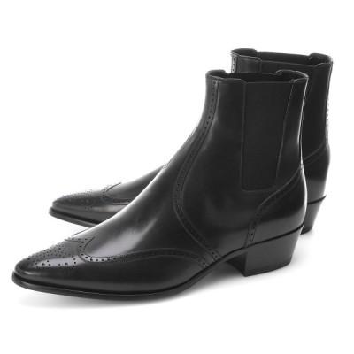 セリーヌ CELINE ブーツ JACNO PERFORATED CHELSEA 大きいサイズあり ブラック メンズ 34028-3472c-38no