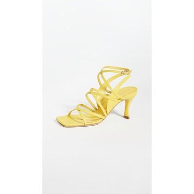バイ ファー BY FAR レディース サンダル・ミュール シューズ・靴 christina sandals Yellow