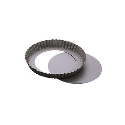 テフロン ベイクウェアー タルトケーキ型 底取 中 ケーキ焼き型(8-1045-0902)