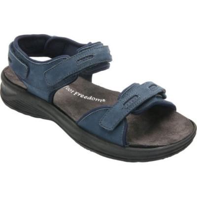 ドリュー Drew レディース サンダル・ミュール シューズ・靴 Cascade Sandal Navy Nubuck
