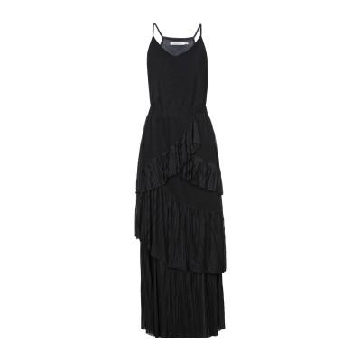GESTUZ ロングワンピース&ドレス ブラック XS ポリエステル 100% ロングワンピース&ドレス