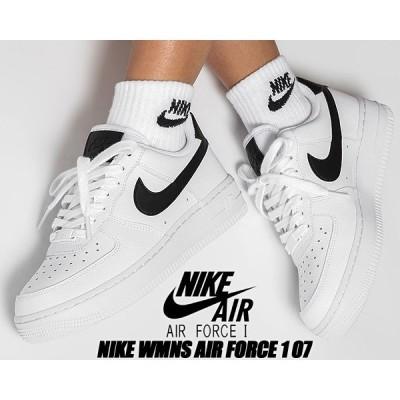 NIKE WMNS AIR FORCE 1 07 white/wht/black 315115-152 ナイキ ウィメンズ エアフォース 1 ロー 07 レディース スニーカー ホワイト ブラック AF1 ロー
