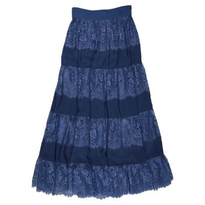 HANITA ロングスカート ダークブルー 44 ナイロン 100% ロングスカート